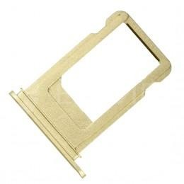 Сим-лоток (Nano Sim Card Tray) для Nano сим карты для iPhone 7 золотой