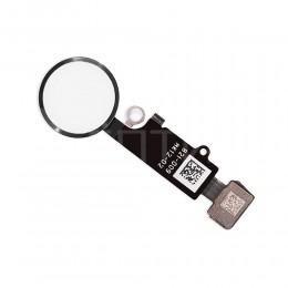 Кнопка HOME со шлейфом для iPhone 7 / 7 Plus серебряный
