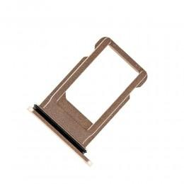 Сим-лоток (Nano Sim Card Tray) для Nano сим карты для iPhone 8 золотой