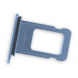 Лоток для sim-карты iPhone XR синий