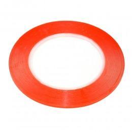 Двухсторонний скотч лента 3M 2 мм красный, для ремонта iPad 25 метров