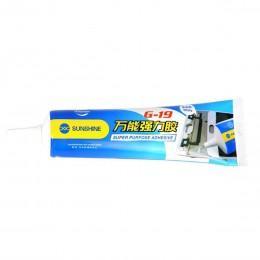 Клей для проклейки тачскринов 50 мл белый Sunshine G-19