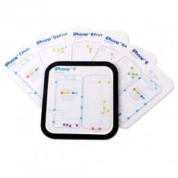 Универсальный магнитный коврик с картой винтов для iPhone 6/6S/7/8/X