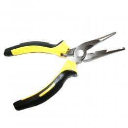 Длинногубцы с эргономичными рукоятками для простых механических работ