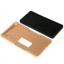 Металлическая форма для наклейки стекла на дисплей iPhone XS Max с плотной резиновой подложкой для пресса