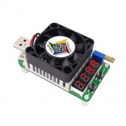 Регулируемая USB нагрузка резисторная HD35