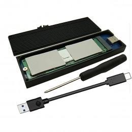 USB 3.0/3.1 бокс переходник с радиатором для SSD диска M.2 PCI-e NVMe