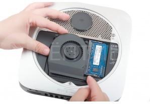 Замена вентилятора в Mac Mini Late 2012