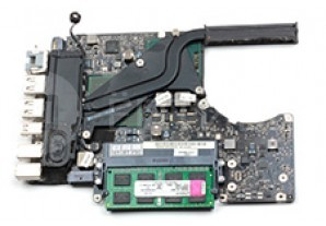Замена радиатора в MacBook Unibody A1278