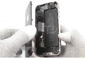 Замена задней панели в iPhone 4s