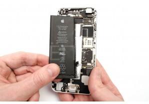 Замена аккумуляторной батареи в iPhone 6