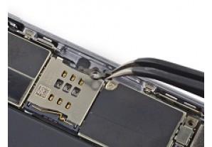 Замена рычага выброса SIM-карты на iPhone 6