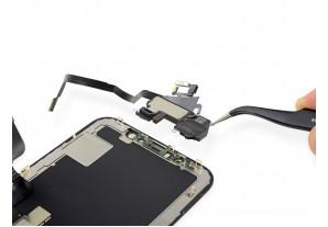 Замена верхнего шлейфа и динамика в iPhone X