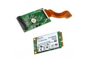 SSD диск mSata 64Гб для MacBook Air Early 2008 + адаптер mSata на ZIF 40 pin