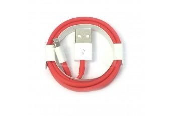 USB Lightning кабель провод для Apple iPhone 7 Red