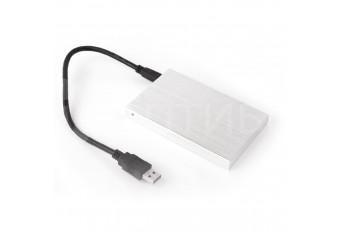 """Внешний бокс USB 2.0 для жестких дисков MAC HDD / SSD 2.5"""" алюминиевый"""