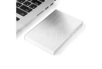 """Внешний бокс USB 3.0 для жестких дисков MAC HDD / SSD 2.5"""" алюминиевый"""