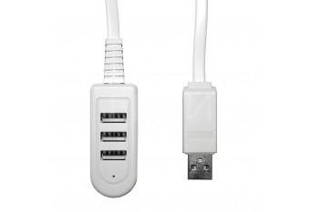 USB 2.0 Hub удлиннитель 1,2 м на 3 порта