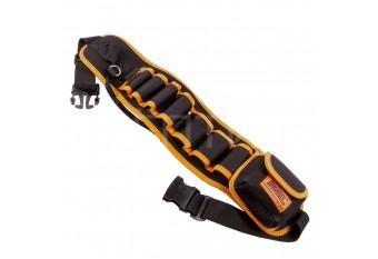 Пояс для инструмента 7 секций, 1 карман, 1 карабин