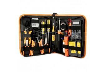 Набор монтажного инструмента для электромеханика 17 в 1