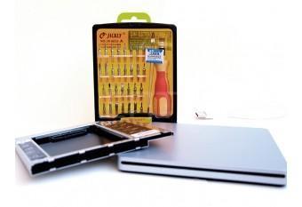Комплект Optibay 12,5 мм + корпус для Superdrive + отвертки для iMac