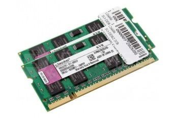 Память для MacBook Pro, Mac mini, iMac 2006-2007 Kingston SO-DDR2 4Gb (2X2Gb) 667MHz