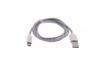 Модный USB MicroUSB зарядка, провод для HTC, Samsung