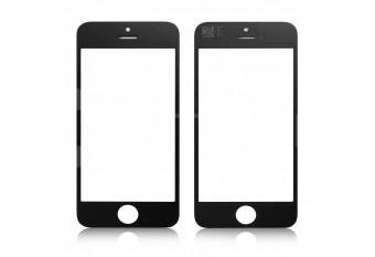 Стекло для экрана iPhone 4 / 4S черное