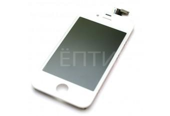 Дисплей (тач скрин и экран, матрица) для iPhone 4S белый