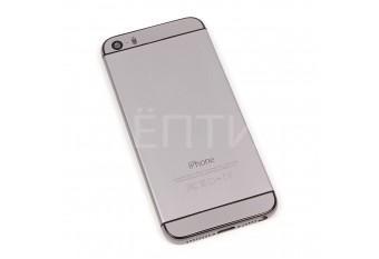 Корпус для iPhone 5S в стиле iPhone 6 Space Gray