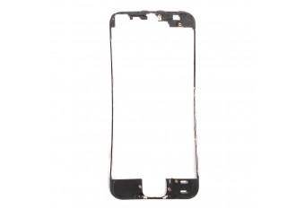 Пластиковая рамка дисплея черная для iPhone 5S