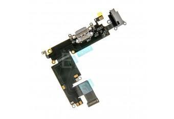 Нижний шлейф Dock коннектора / аудио выхода с микрофоном для iPhone 6 Plus черный