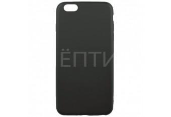 Силиконовый чехол для iPhone 6 / 6S чёрный