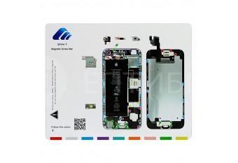Магнитный коврик с картой винтов для iPhone 6