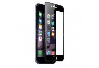 Трехмерное 3D защитное стекло для iPhone 7 / 8 черное
