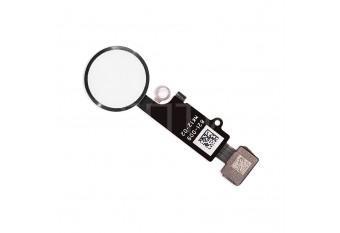 Кнопка HOME со шлейфом для iPhone 8 / 8 Plus серебристая
