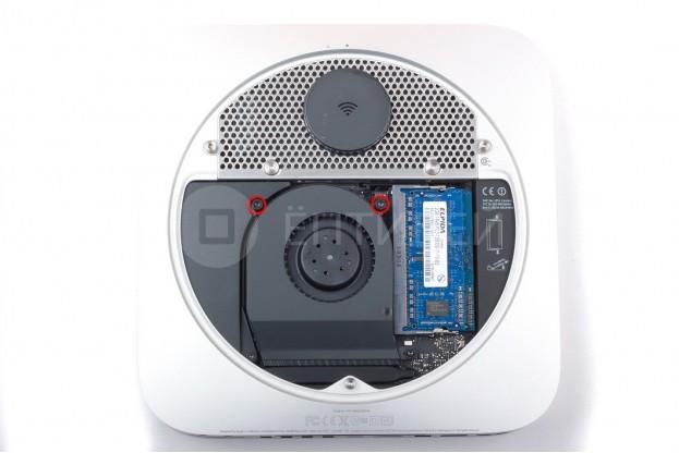 3 - Шаг 3 - Снятие вентилятора охлаждения