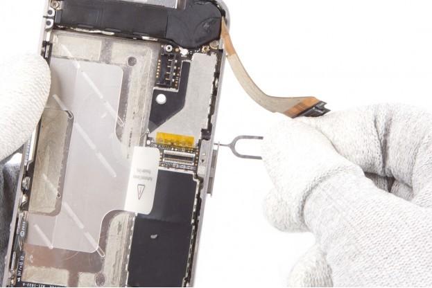 11 - Шаг 11 - Лоток SIM-карты