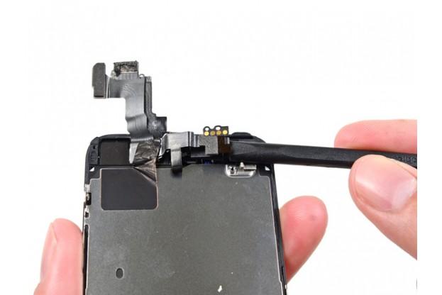 замена модуля передней камеры на iphone 5
