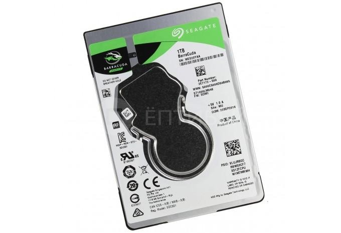"""Жесткий диск 2.5"""" Seagate 1 Тб для MacBook Pro, iMac"""