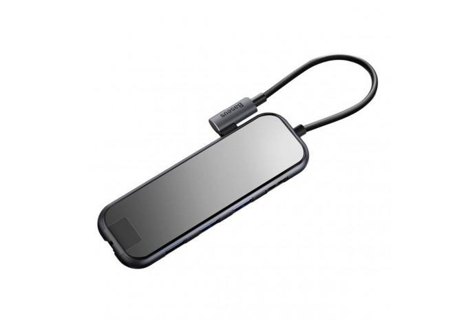 Type-C Хаб для MacBook Baseus Mirror Series Multi-functional HUB CAHUB-DZ0G