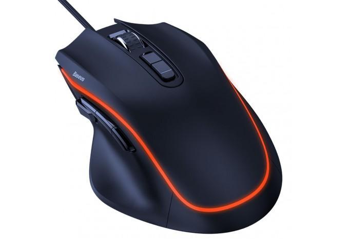 Игровая мышь проводная Baseus Gamo Gaming Mouse GM01