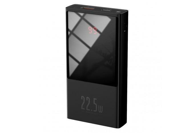 Внешний аккумулятор 10000mAh 22.5W QC PD Baseus Super Mini Power Bank черный PPMN-A01