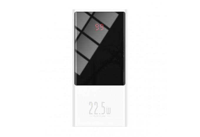 Внешний аккумулятор 20000mAh 22.5W QC PD Baseus Super Mini Power Bank белый PPMN-B02