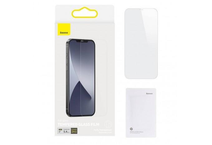 Защитное стекло для iPhone 12 mini Baseus Tempered Glass Film 0.15 mm SGAPIPH54N-FM02