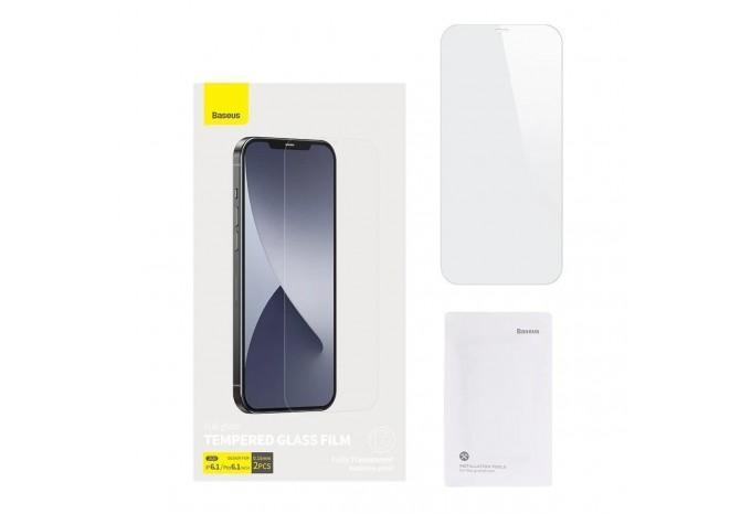 Защитное стекло для iPhone 12/12 Pro Baseus Tempered Glass Film 0.15 mm SGAPIPH61P-FM02