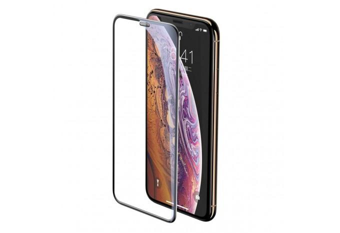 Защитное стекло для iPhone XS Max и 11 Pro Max Baseus 0.23 mm Full-Screen Сurved Tempered SGAPIPH65-WA01