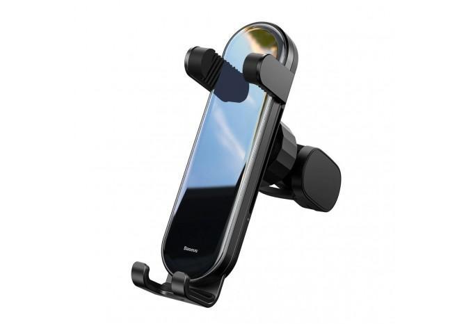 Компактный автомобильный держатель Baseus Penguin Gravity SUYL-QE01 черный