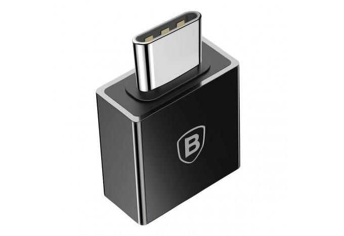 Переходник адаптер с USB Type-C на USB 2.0 Baseus CATJQ-B01 OTG