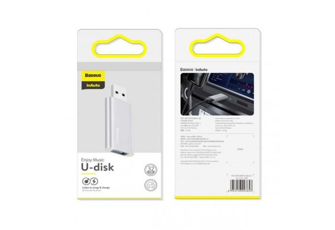 Флешка в машину 32 ГБ USB Baseus Enjoy music u-disk ACUP-B0S